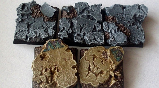 How to paint ruins bases – tutorial