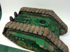 Land Raider Proteus WIP