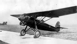 Davis D-1, NC-857N. Note that the photo was taken with the wheels behind the chocks and the engine running. Chet was a dealer for these planes.