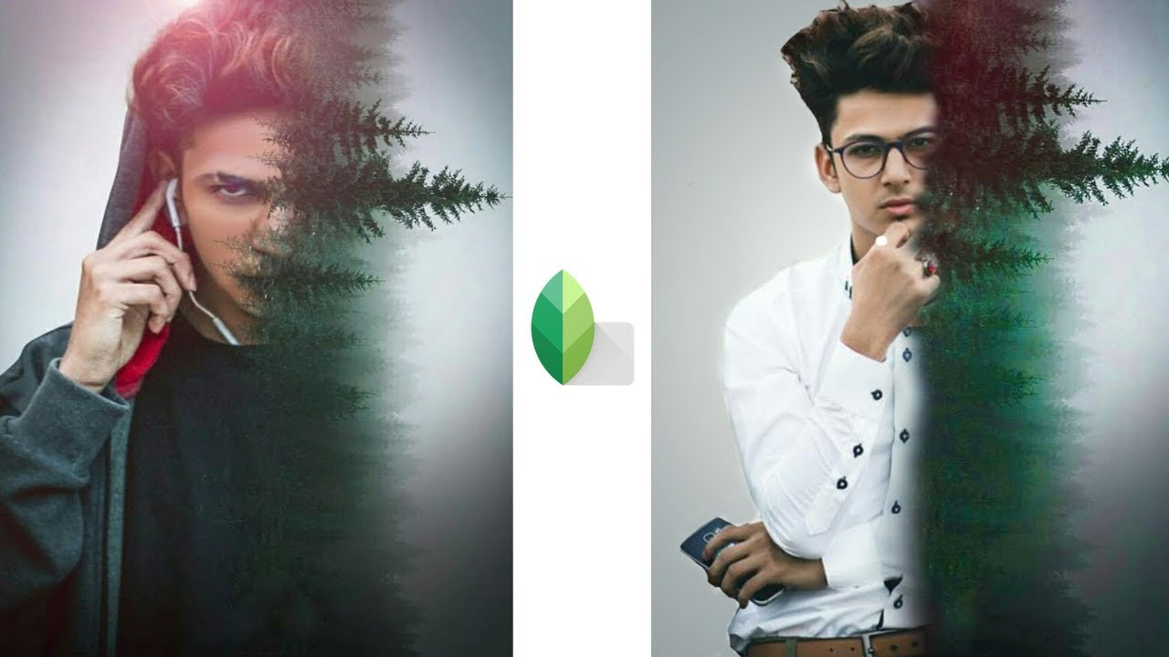 how to use snapseed double exposure