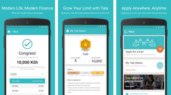 Mobile credit firm Tala