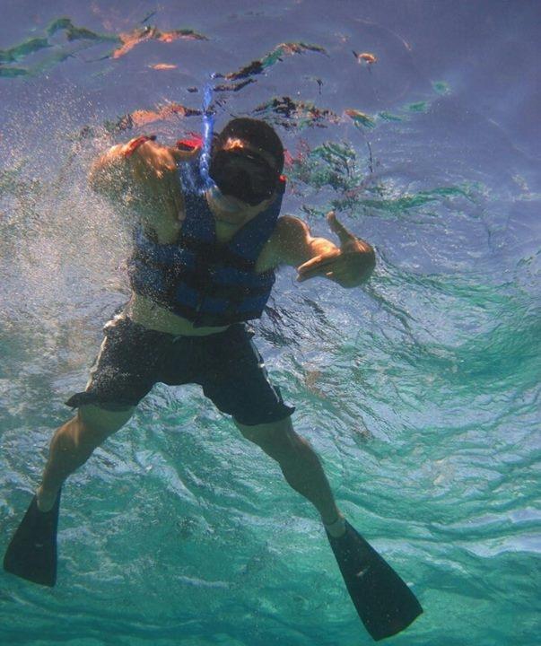 snorkeling en mahahual