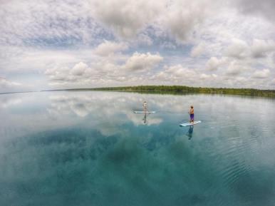 paddle boarding bacalar -buena vista (4)