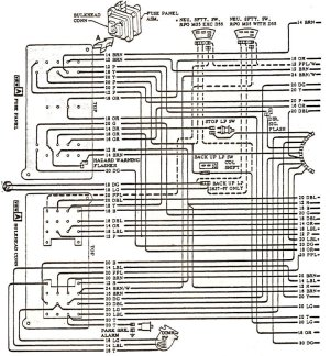 1968 Chevelle Wiring Diagrams