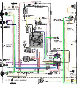64 Chevelle Voltage Regulator Wiring Diagram  Circuit