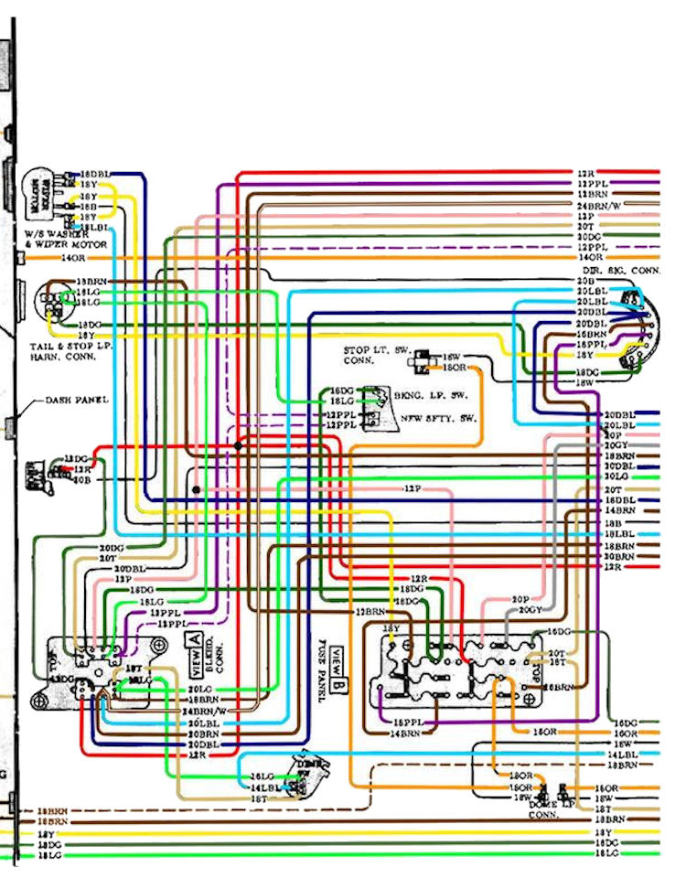 1969 Chevelle Dash Wiring Diagram Worksheet And \u2022 1967 Diagrams Online 1972: 1971 Chevelle Wiring Schematics At Outingpk.com