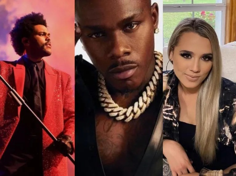 The Weeknd, DaBaby y Gabby Barrett lideran los Billboard Music 2021