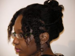 cheveux crépus misscamaelle