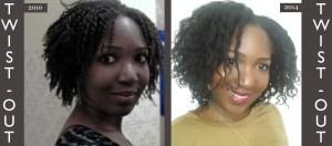 Misscamaelle, cheveux naturels, cheveux crépus, twist-out