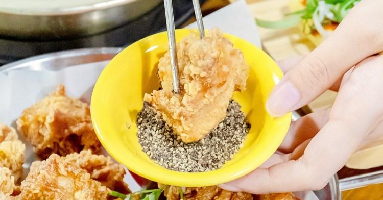 濟州Mr.KIM韓式炸雞,用餐時段人潮滿滿,超過15塊炸雞不用300元!