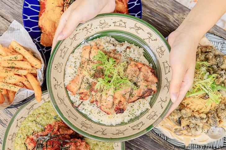 20200920155347 100 - 熱血採訪│台中大份量義大利麵、燉飯新開幕!滿滿炸魚看不到底下的麵,還有濃湯、飲料與小點心無限取用!