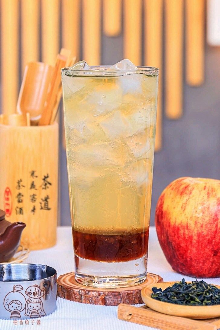 20211006131656 89 - 熱血採訪│蘋果控必喝!竟然喝得到爽脆多汁的果肉,茶森林新推出「蘋果紅玉」、「蘋果台灣綠」,同品項限時第二杯半價!