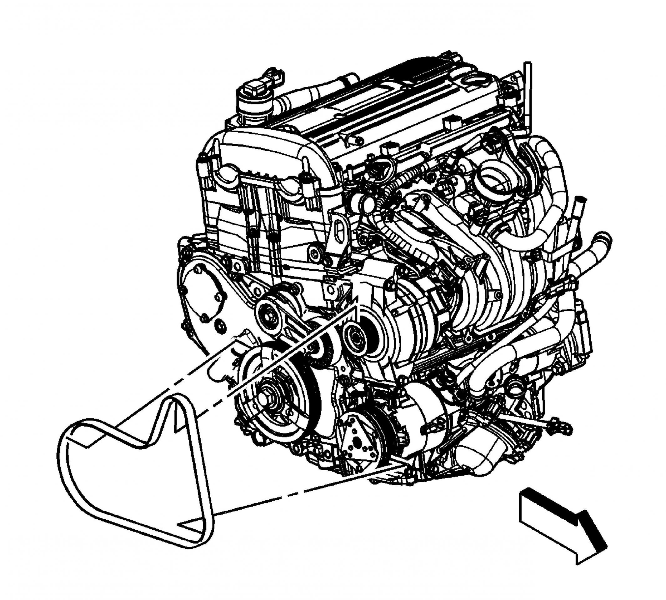 Chevy Equinox Serpentine Belt Diagram