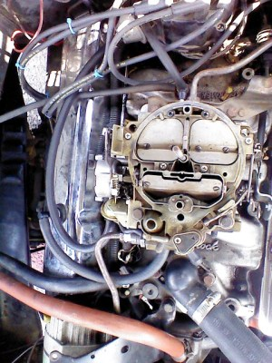 Starter and Carburetor Compatibility on 1974 350 V8 57