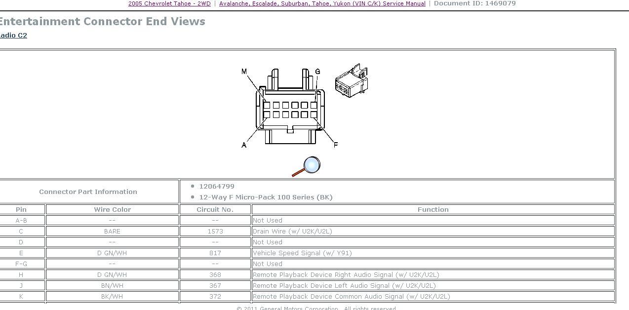 2005 chevy radio wiring harness impala radio wiring diagram wiring ...