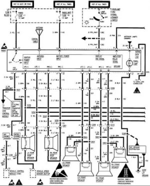 Stereo wiring diagram or help  Chevrolet Forum  Chevy