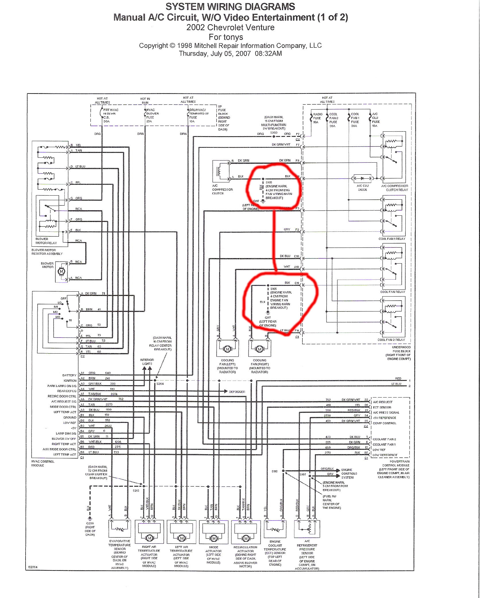 Cable Termination Diagram