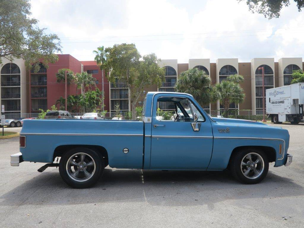 1978 Chevy Truck >> 1978 Chevy C10 Is A True Blue Piece Of Americana Chevroletforum