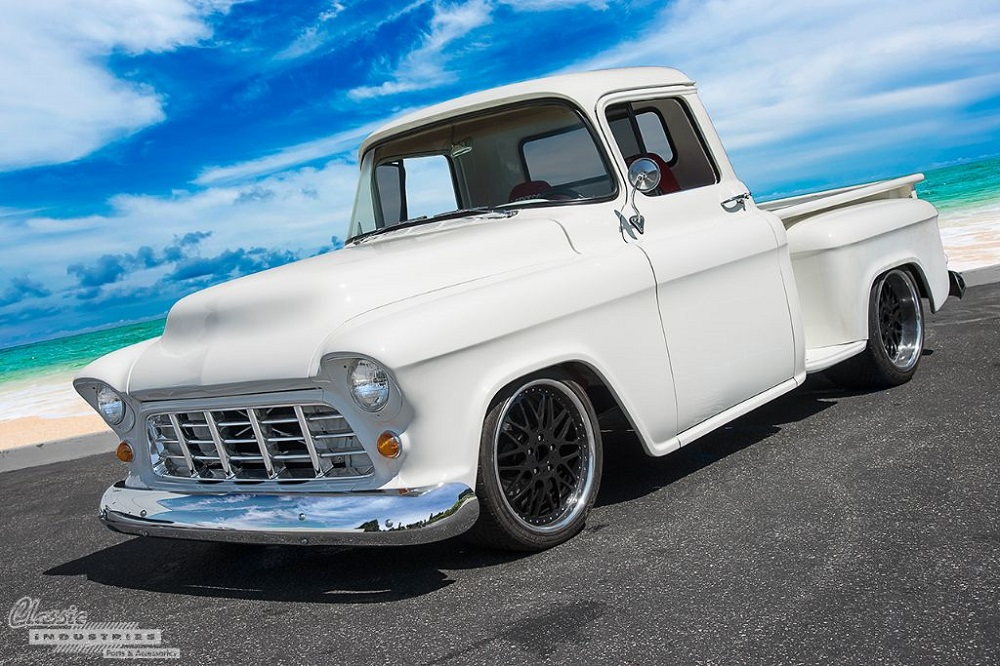 1955 Chevy Truck >> 1955 Chevy Truck Pays Homage To Owner S Late Mom