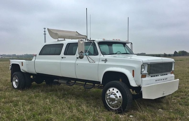 77 Chevy Truck >> Chevy Truck Mashup Built To Be A Cowboy Big Rig