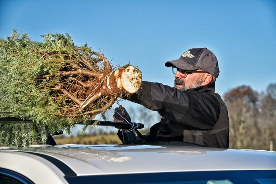 Chevrolet offers top tips for transporting your tree this holiday