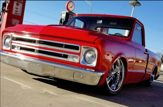 1967 Chevy C10 Low Front
