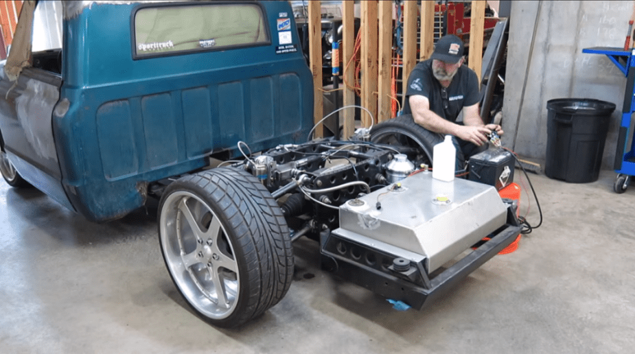 Chevrolet Forum - C10 With Hydraulic Suspension Can Lay Frame and Carve Corners
