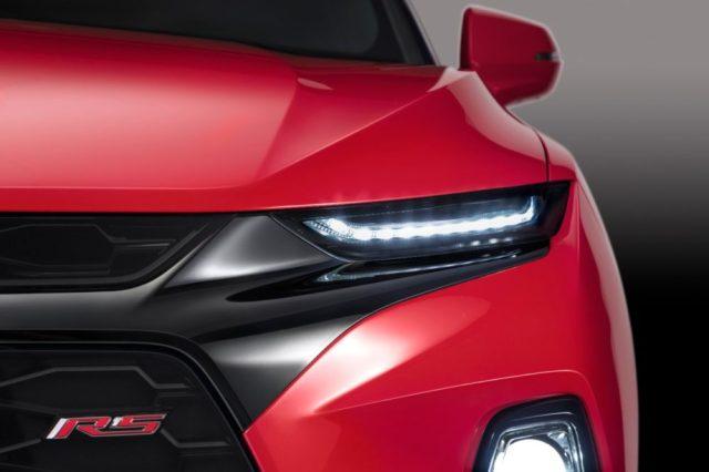 2019 Chevrolet Blazer features a distinctive lighting execution