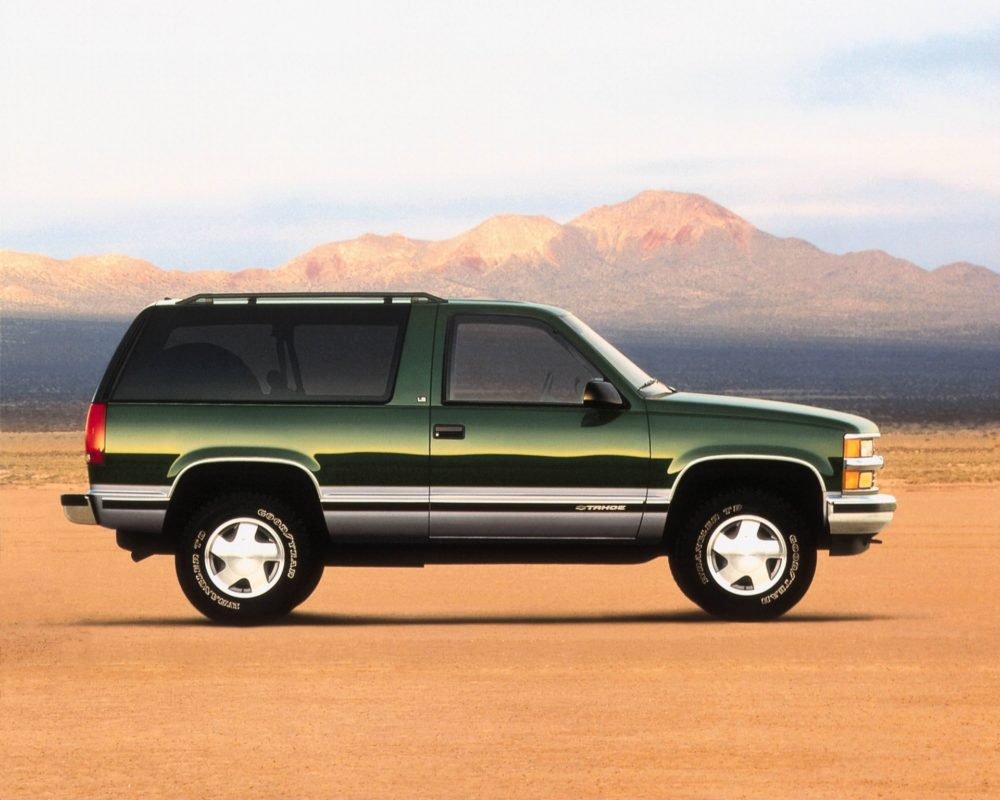 1992-1999 Chevy Blazer Tops 'Cool and Affordable' SUV List