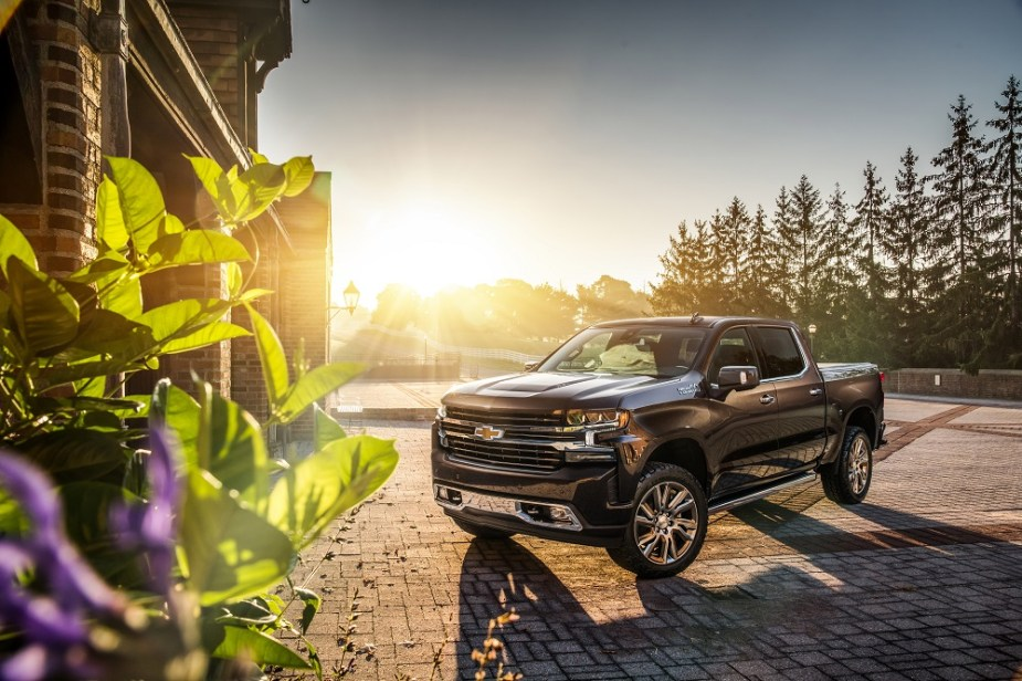 The 2019 Silverado High Country Concept shows the nearly limitle