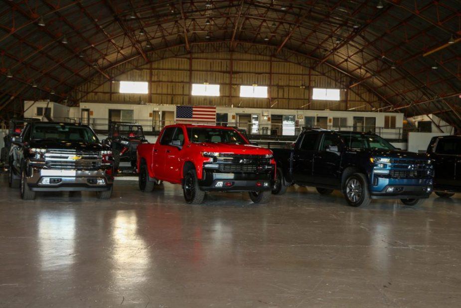 2019 Chevrolet Silverado 1500 High Country Trail Boss 6.2 5.3 V8 Truck
