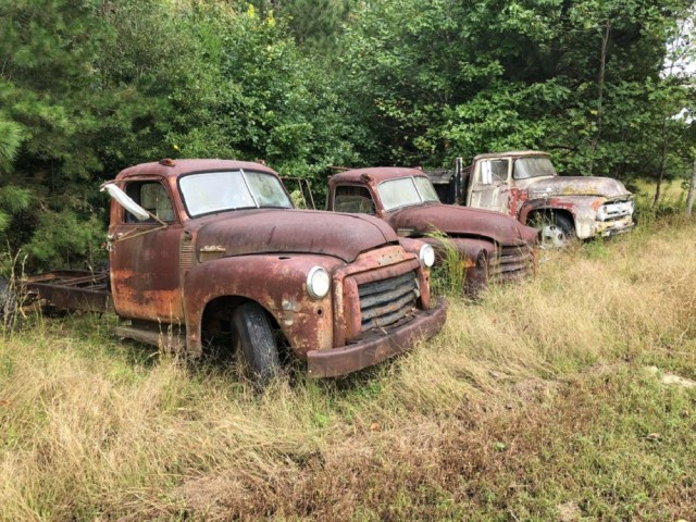Chevy Truck Graveyards