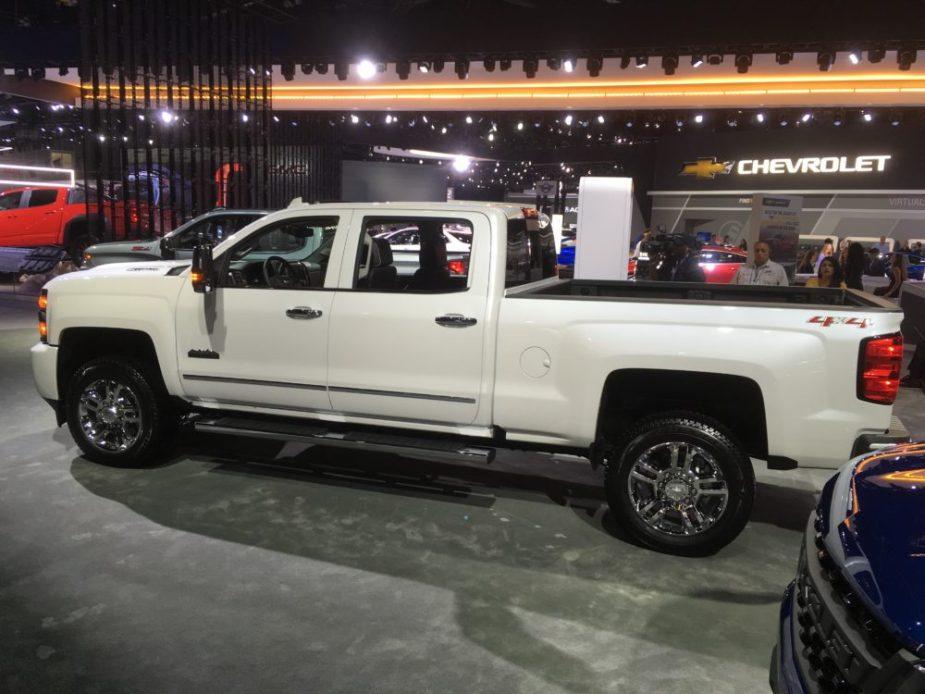 2019 Chevy Silverado at 2018 L.A. Auto Show
