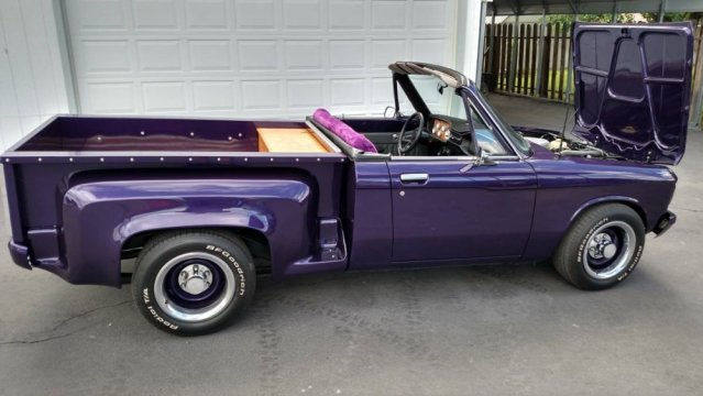 1977 Chevy LUV Convertible Side