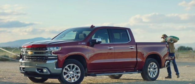 2019 Silverado Tailgate Commercial Side