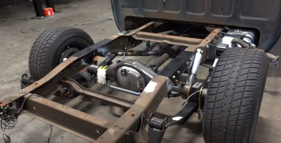 Chevy C10 Rear Suspension Upgraded