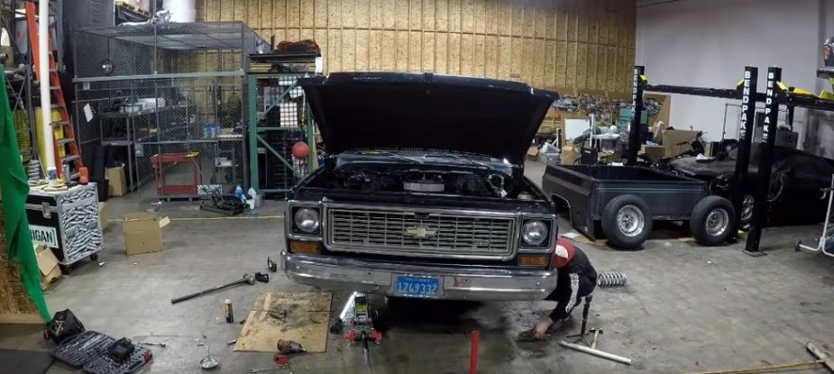 Chevy C10 Front End Work