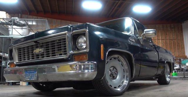 Chevy C10 Slammed