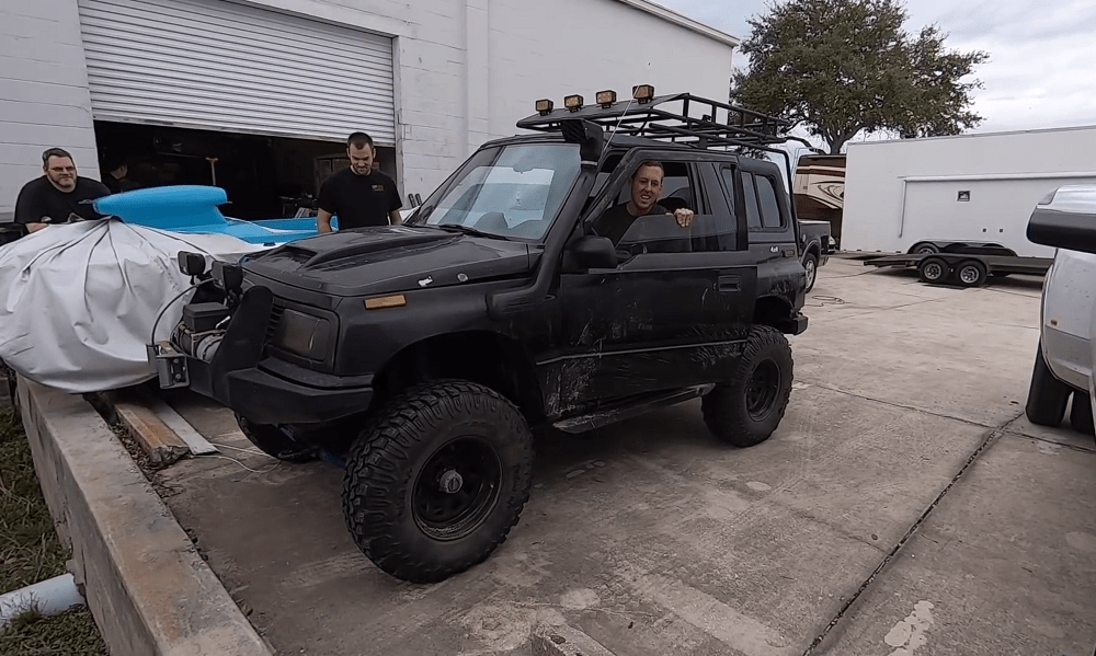 Built Off-Road Geo Tracker Makes for One Fun Afternoon