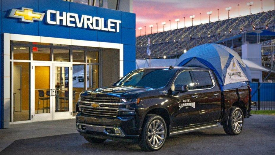 Silverado Camp Truck Front