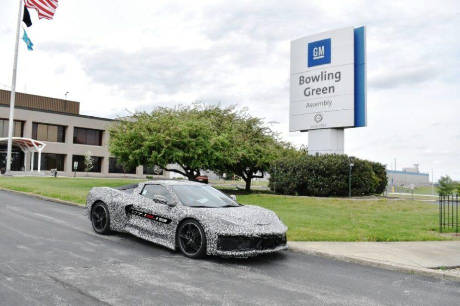 GM Bowling Green Assembly + Corvette C8 Camo