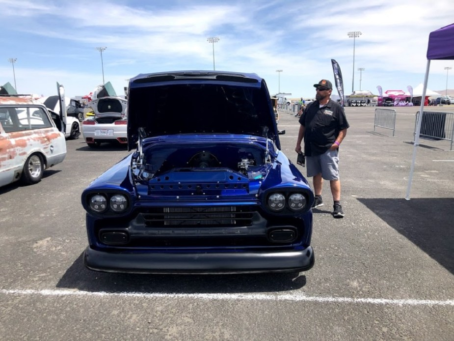 LS-swapped 1959 Chevy Pickup + LS Fest West