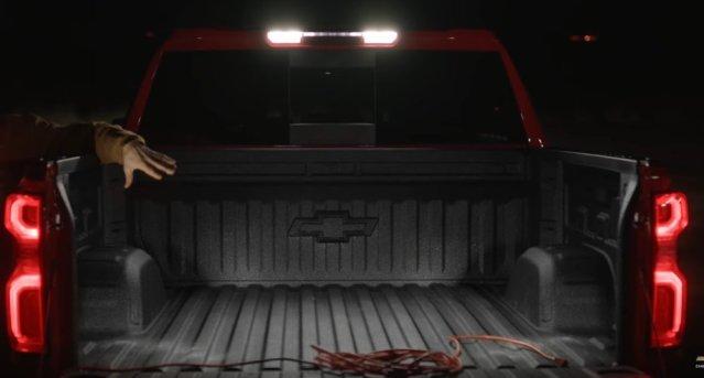 New Silverado Bed