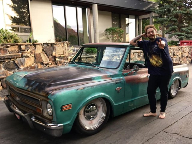 Post Malone 1968 C10 Shortbed