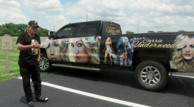 Carrie Underwood Tribute Chevy Silverado