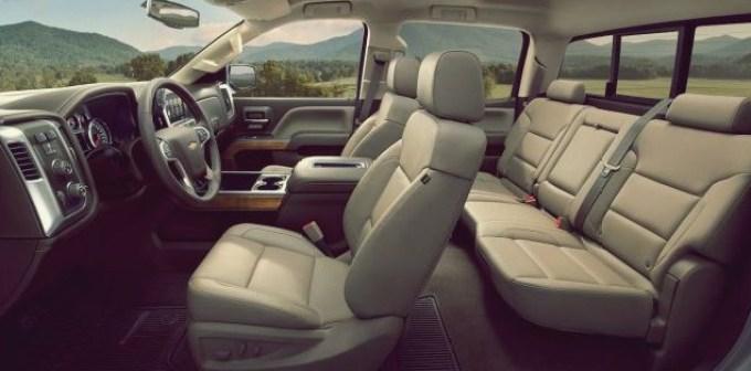 2020 Chevy Silverado Interior