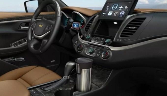 2021 Chevy Impala Interior