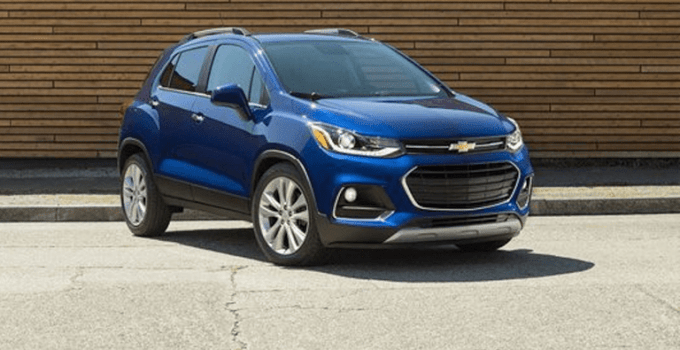 2019 Chevy Trax Exterior