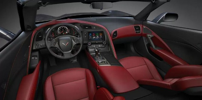2020 Chevy Corvette Interior