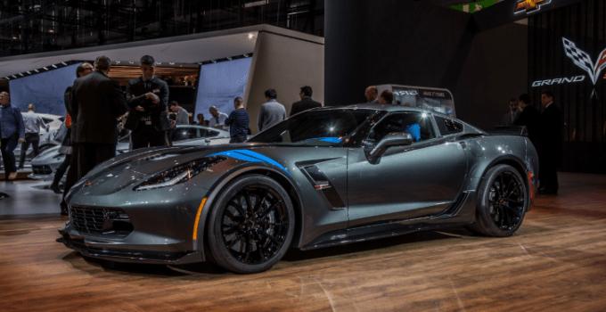 2021 Chevrolet Corvette Grand Sport Exterior